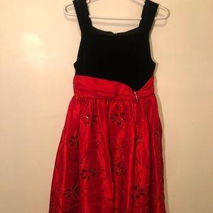 Bonnie Jean kids red dress
